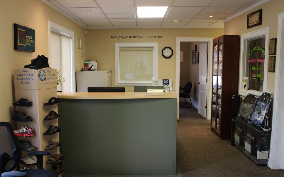 Johnson chiropractic front desk