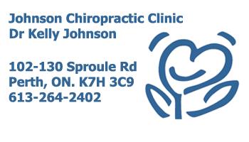 Chiropractic Perth, ON   Johnson Chiropractic